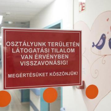 Részleges látogatási tilalom van a nagykanizsai kórházban