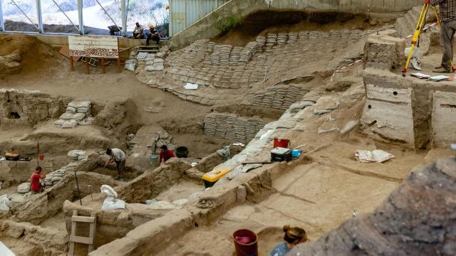Török kori palánkot tártak fel a simontornyai várnál