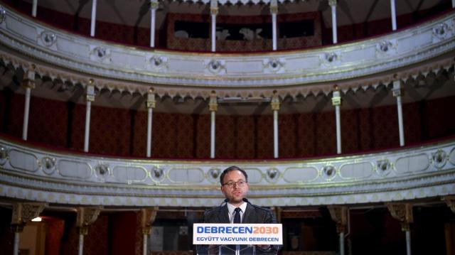Megkezdődött a debreceni Csokonai Színház épületének felújítása