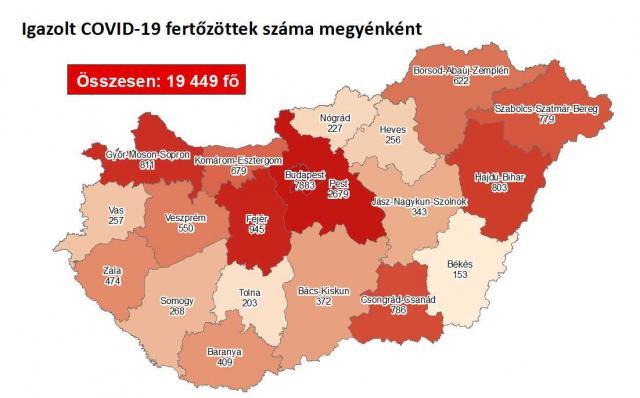 Több mint 600 új fertőzöttet találtak Magyarországon