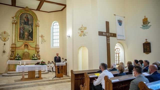Felújították az ópusztaszeri templomot