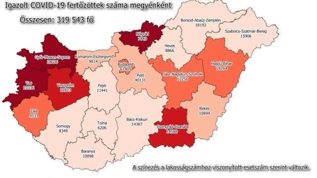 Ismét megugrott a fertőzöttek száma hazánkban
