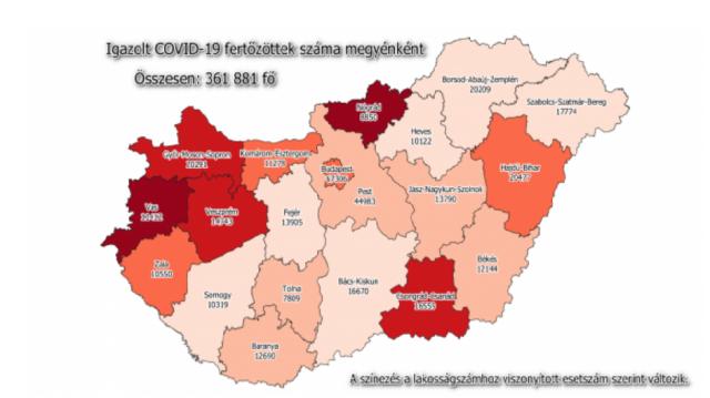 Koronavírus - Meghalt 85 beteg, 1004-gyel nőtt a fertőzöttek száma Magyarországon