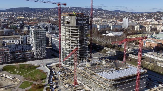 Az építőipari teljesítménye felülmúlta az egy évvel korábbit