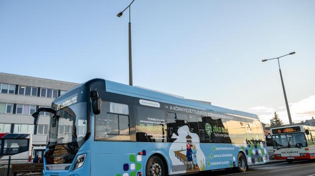 További elektromos autóbuszok érkezhetnek a Volánbuszhoz