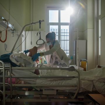 Életmentő tüdőátültetést végeztek az Országos Onkológiai Intézetben